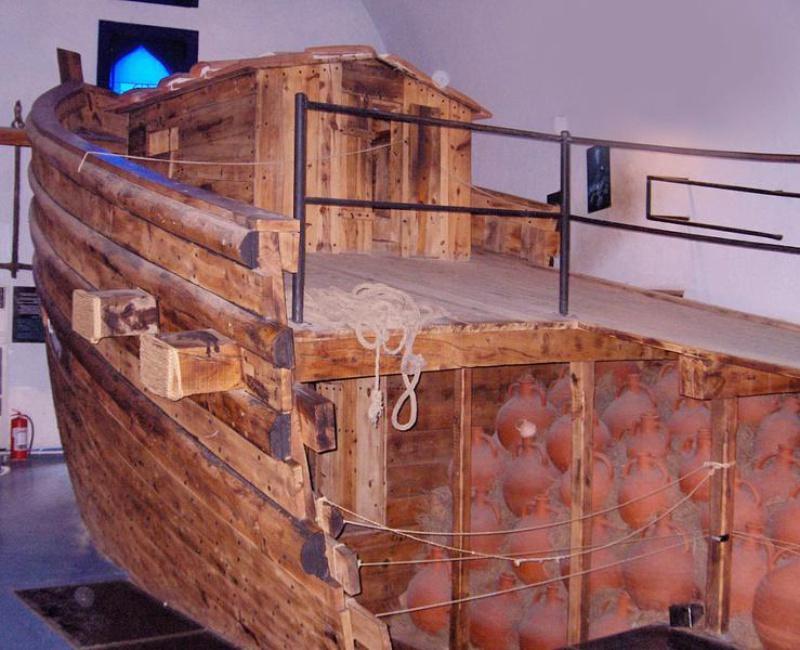 Экспозиция музея в Бодруме (Турция)